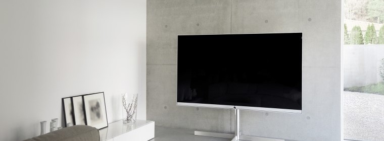 "Loewe Reference 85"" TV, Scotland UK"