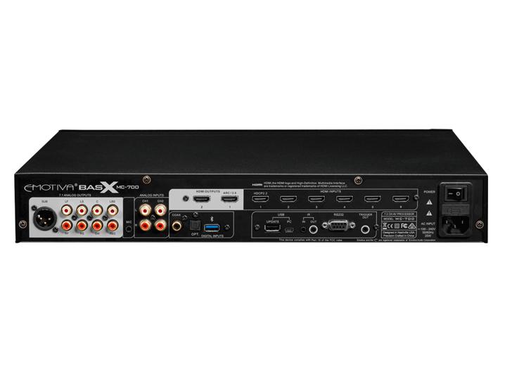 Onwijs Emotiva MC-700 Surround Sound Processor - HomeSound, Hifi ED-19